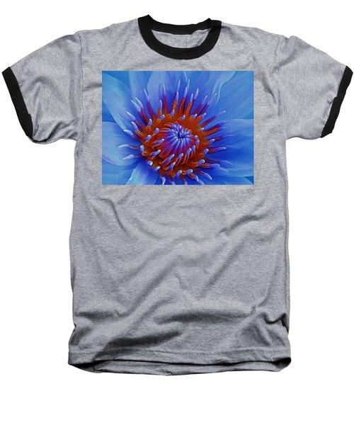 Water Lily Center Baseball T-Shirt