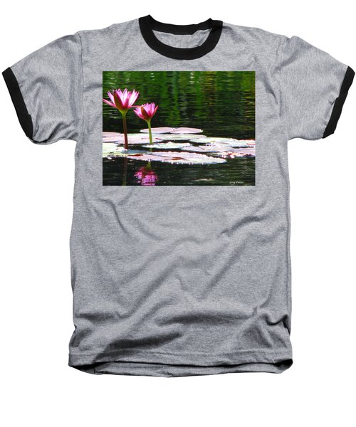 Baseball T-Shirt featuring the photograph Water Lily by Greg Patzer
