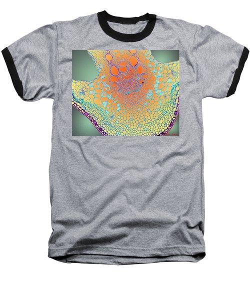 Water Lily Homage Baseball T-Shirt
