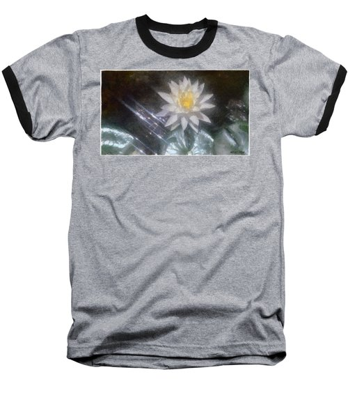 Water Lily In Sunlight Baseball T-Shirt