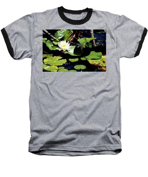Baseball T-Shirt featuring the photograph Water Lily by Meta Gatschenberger
