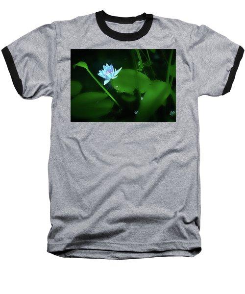 Water Lily N Pond Baseball T-Shirt