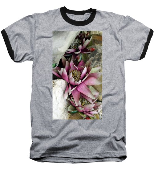 Water Lily - Seerose Baseball T-Shirt
