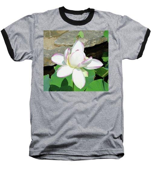 Water Lotus Baseball T-Shirt