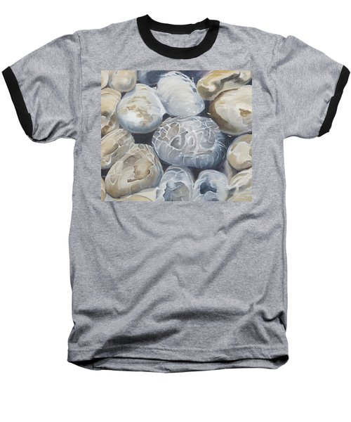 Water Of Pebbles Baseball T-Shirt