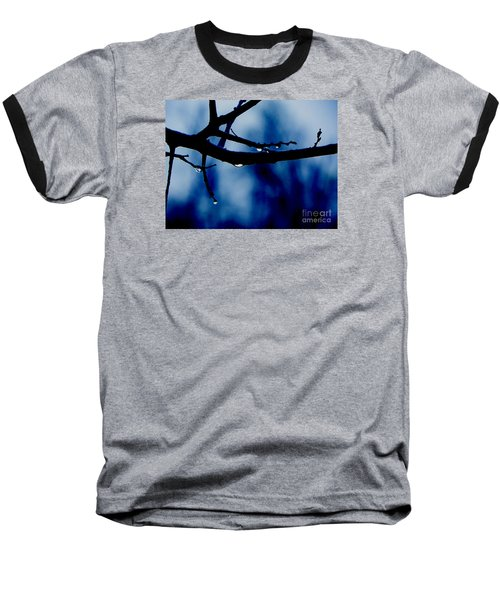 Water On Branch Baseball T-Shirt by Craig Walters