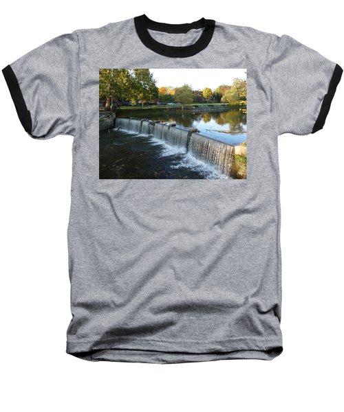 Water Over The Dam Baseball T-Shirt by Joel Deutsch