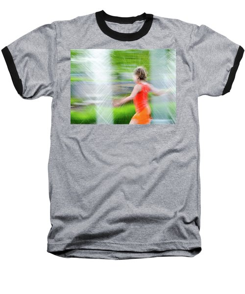 Water Park In The Summer Baseball T-Shirt