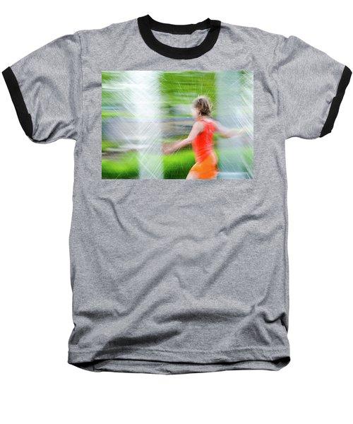 Water Park In The Summer Baseball T-Shirt