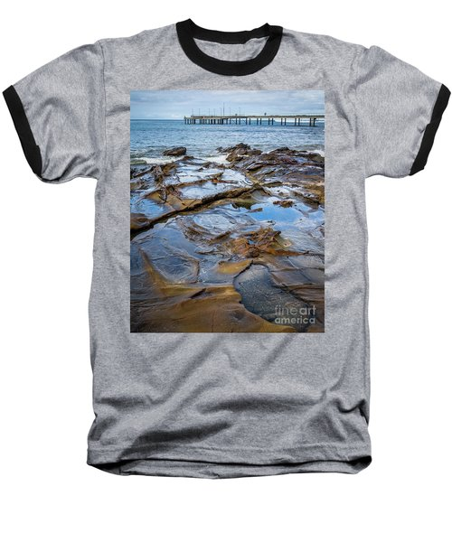 Baseball T-Shirt featuring the photograph Water Pool by Perry Webster