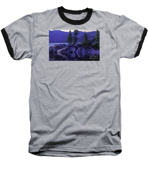 Baseball T-Shirt featuring the photograph Water Reflections by Nancy Marie Ricketts