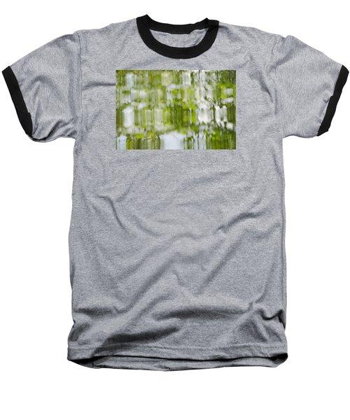 Baseball T-Shirt featuring the photograph Water Reflections by Wanda Krack