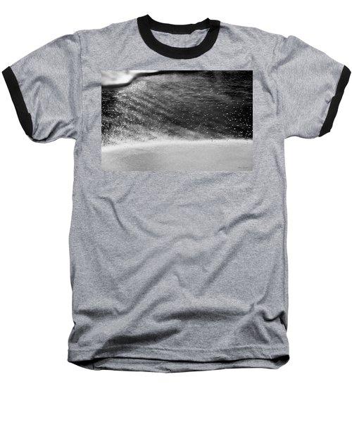 Water Ripples 1 Baseball T-Shirt by Glenn Gemmell