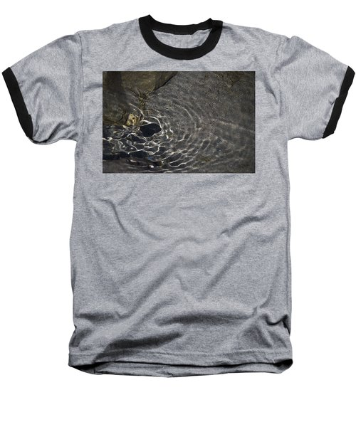 Baseball T-Shirt featuring the photograph Black Hole by Yulia Kazansky
