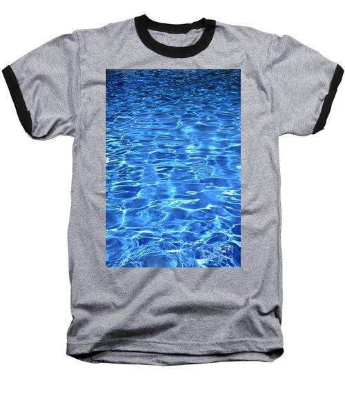 Baseball T-Shirt featuring the photograph Water Shadows by Ramona Matei