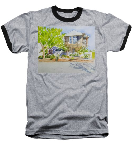 Water Street, Rosemary Beach Baseball T-Shirt