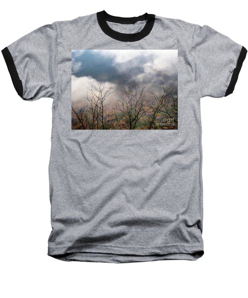 Baseball T-Shirt featuring the photograph Water Study by Melissa Stoudt