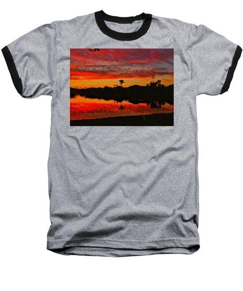 Winter Sunrise I Baseball T-Shirt
