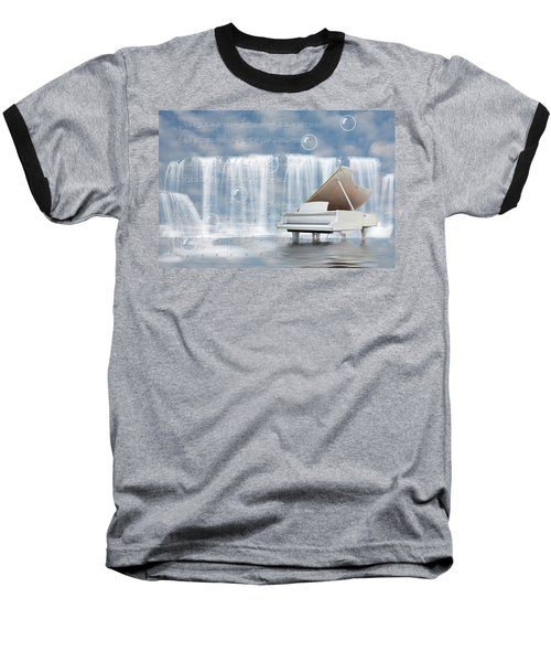 Water Synphony For Piano Baseball T-Shirt