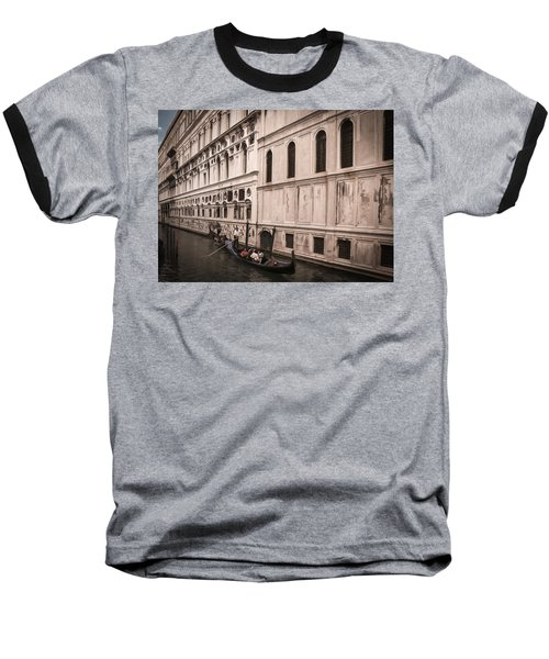 Water Taxi In Venice Baseball T-Shirt by Kathleen Scanlan