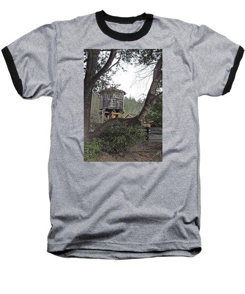 Water Tower @ Roaring Camp Baseball T-Shirt