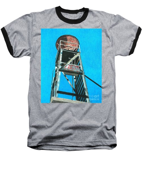 Water Tower Baseball T-Shirt