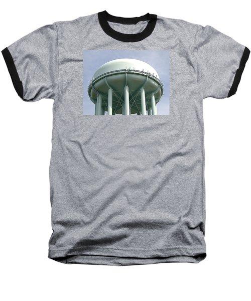 Water Tower Baseball T-Shirt by  Newwwman