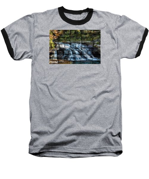 Water Wall Baseball T-Shirt