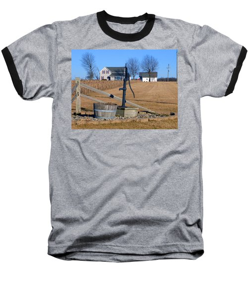 Water Well Baseball T-Shirt