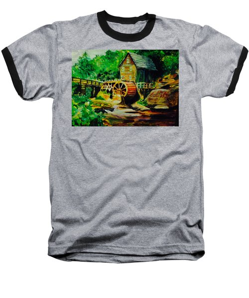 Water Wheel Baseball T-Shirt