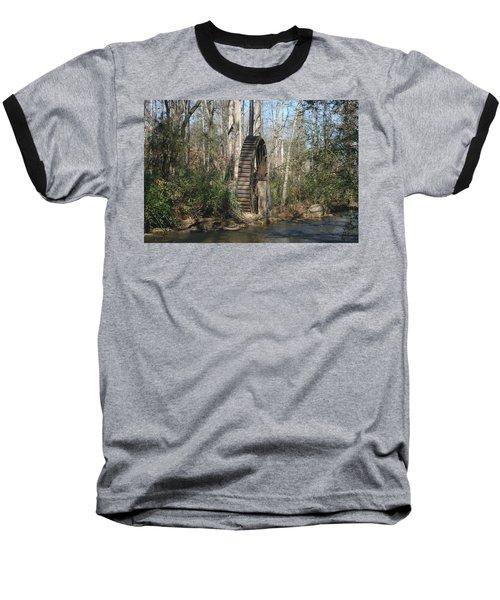 Water Wheel Baseball T-Shirt
