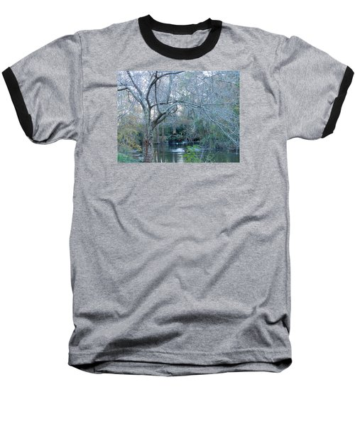 Baseball T-Shirt featuring the photograph Water Wheel by Kay Gilley