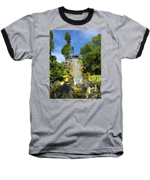 Baseball T-Shirt featuring the photograph Water Works by Barbara Middleton
