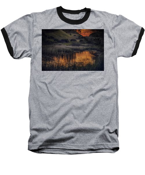 Waterbird Preserve Sunrise Baseball T-Shirt