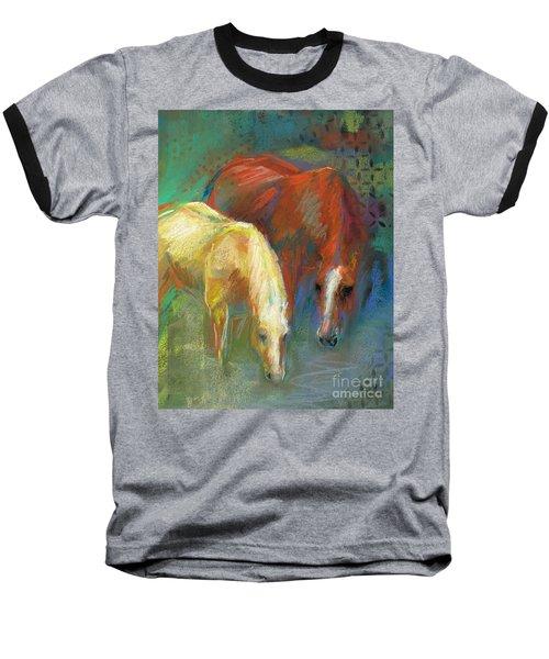 Waterbreak Baseball T-Shirt by Frances Marino