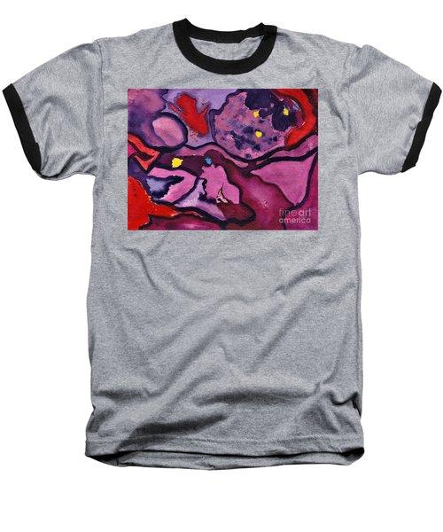 Watercolor Abstraction Baseball T-Shirt