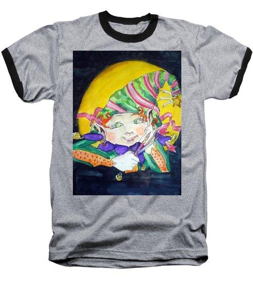 Elfin Artist Baseball T-Shirt