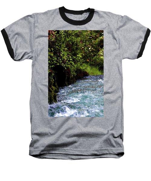Watercolor Big Springs Missouri 2125 W_2 Baseball T-Shirt