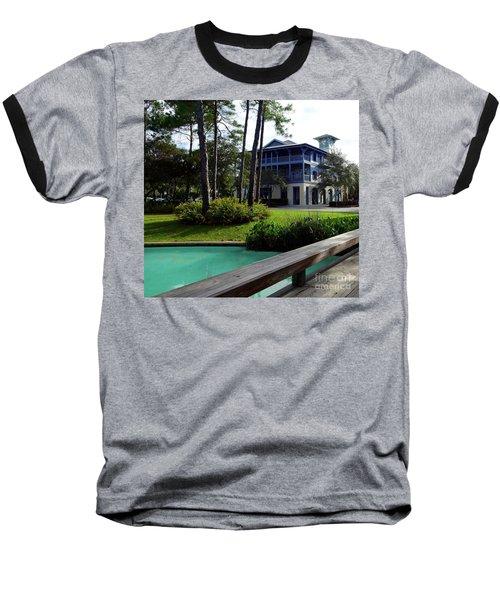 Watercolor Florida Baseball T-Shirt