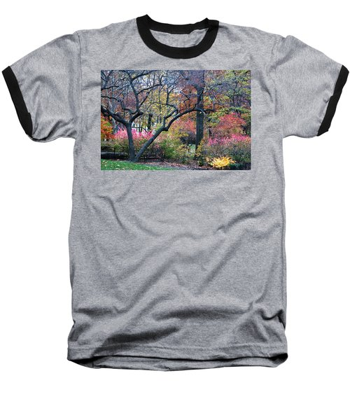 Watercolor Forest Baseball T-Shirt