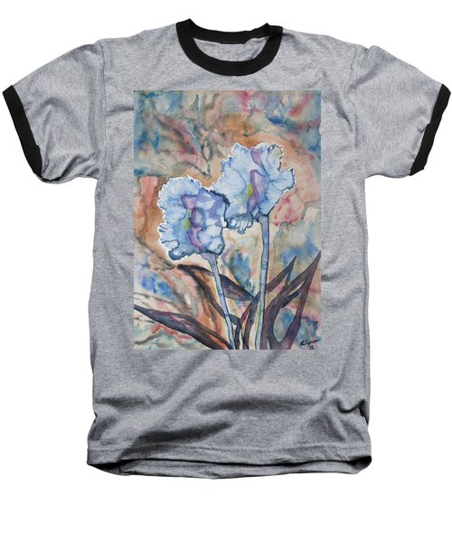 Watercolor - Orchid Impression Baseball T-Shirt