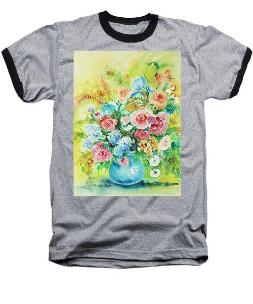 Watercolor Series 120 Baseball T-Shirt