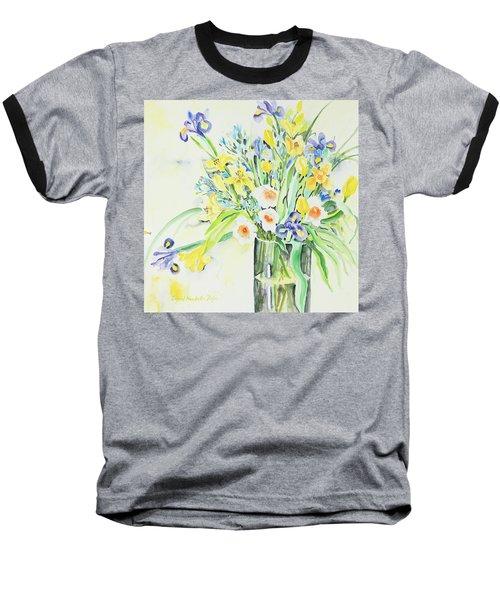 Watercolor Series 143 Baseball T-Shirt