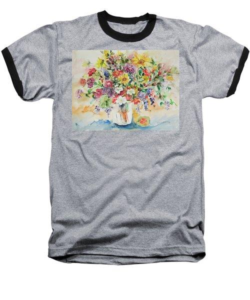 Watercolor Series 33 Baseball T-Shirt