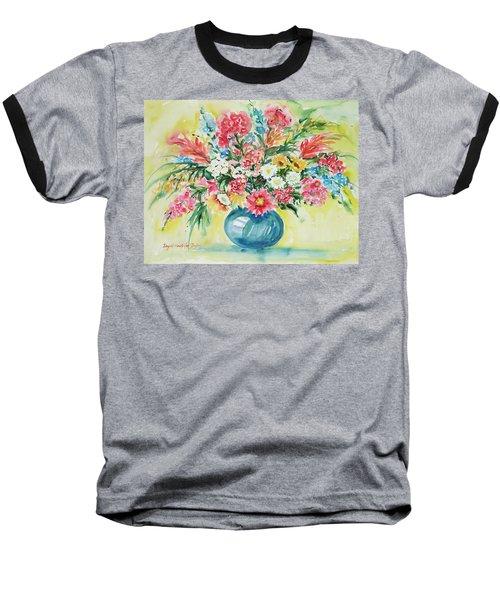 Watercolor Series 58 Baseball T-Shirt
