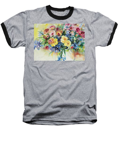 Watercolor Series 62 Baseball T-Shirt