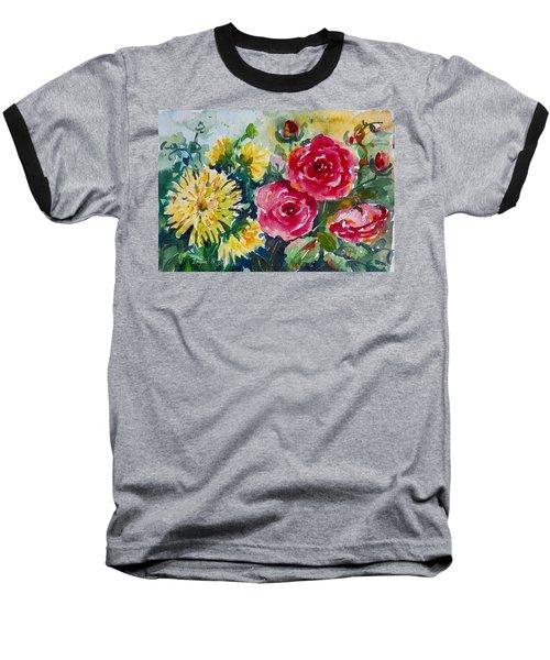 Watercolor Series No. 212 Baseball T-Shirt