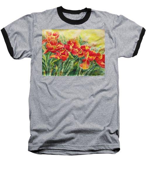 Watercolor Series No. 241 Baseball T-Shirt