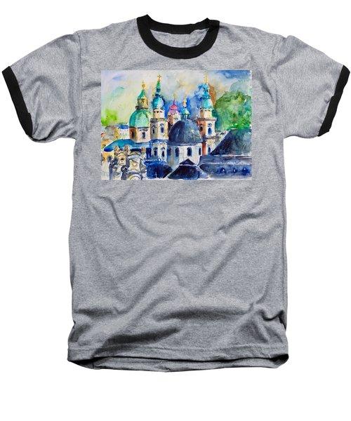 Watercolor Series No. 247 Baseball T-Shirt