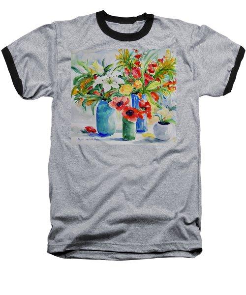 Watercolor Series No. 256 Baseball T-Shirt